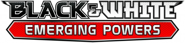 TCGBlackWhite EmergingPowers logo 620x146 Rescheduled! Pokemon B&W Emerging Powers Prerelease Sealed Pack Tournament Sunday September 4th at