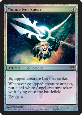 Moonsliver Spear prerelease Magic: the Gathering Avacyn Restored Prerelease Schedule