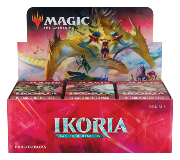 MTG Ikoria Lair of Behemoths draft booster box