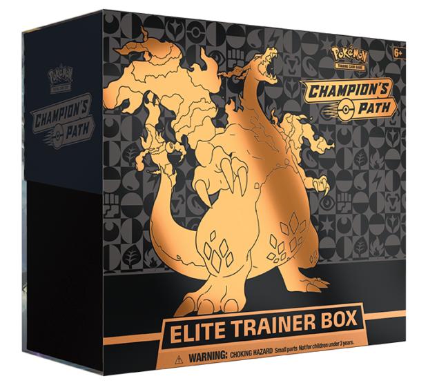 Pokemon TCG Champion's Path Elite Trainer Box