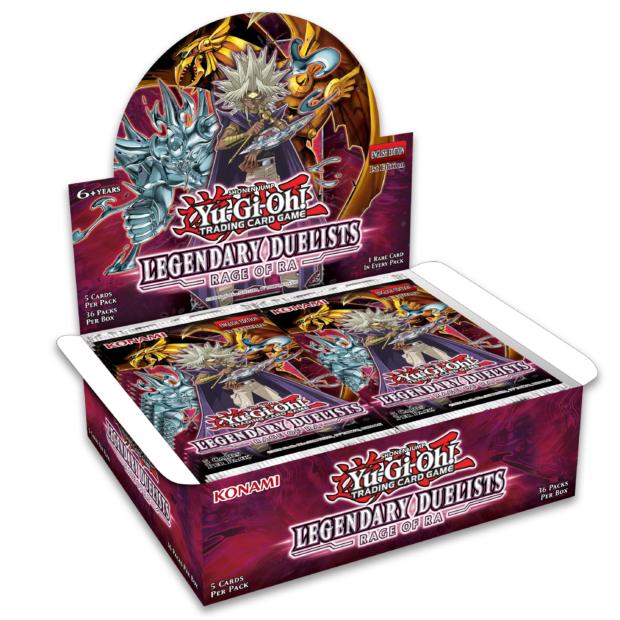 Yu-Gi-Oh! Rage of Ra Booster Box