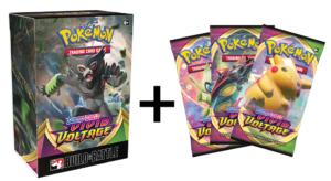 Vivid Voltage Build & Battle Boxes each come with three bonus packs!