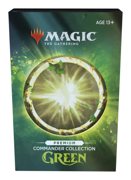 Commander Collection Green Premium Foil Edition