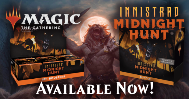 MTG Midnight Hunt is out now at Alternate Universes!