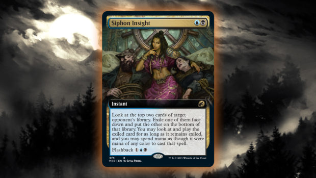 AU's MTG Preview Card Siphon Insight