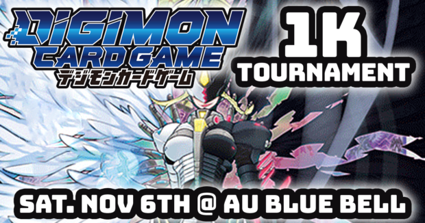 Digimon Card Game 1K Tournament at AU Blue Bell